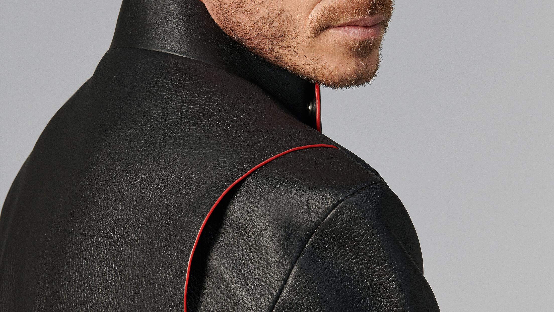 Scuderia Ferrari Collection - Men wearing Roma Driver Jacket